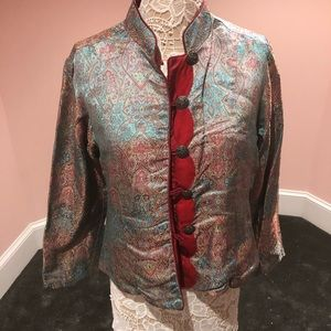Jackets & Blazers - Reversible two in one Asian paisley jacket